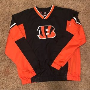 Bengals Crew Neck Windbreaker